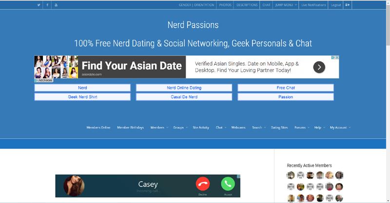 Das dashboard von nerdpassions