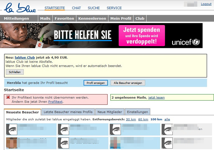 profiltext dating seitedating server