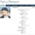 Beispielbild einer Profilansicht mit verpixeltem Profilbild