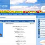 Profilvorschau von Christ such christ ohne hochgeladenen Profil-Photo