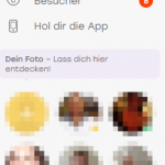 Screenshot der sidebar